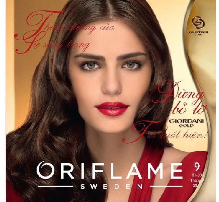 Oriflame - Catalogue Oriflame Thang 9-2011