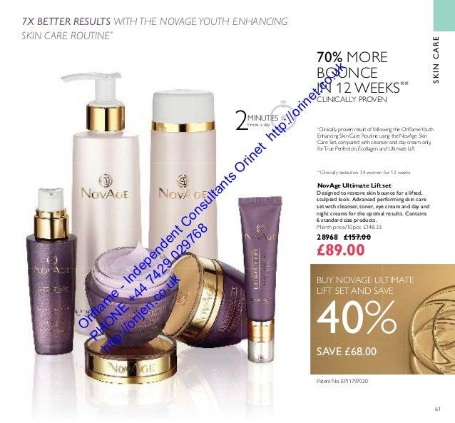Oriflame Cosmetics UK USA 12 August / September 2016