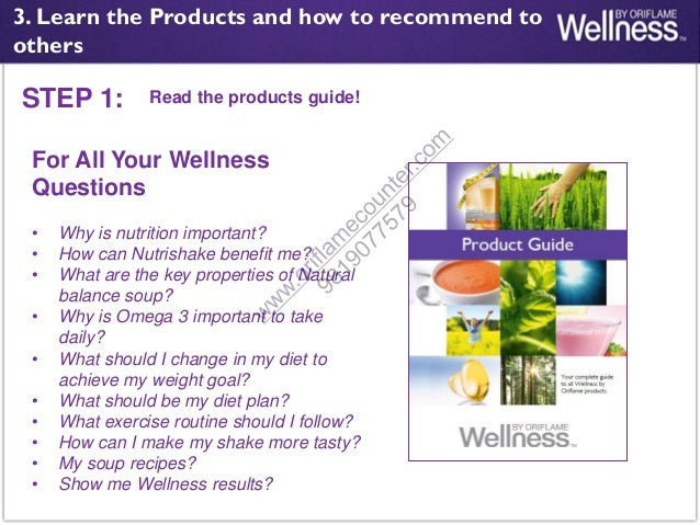 Oriflame wellness training pdf [7]