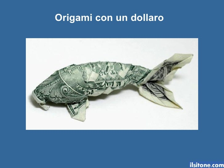 Origami con un dollaro