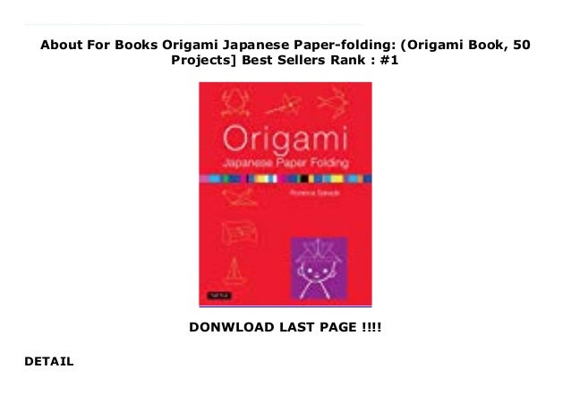 Awesome, Highly Recommended Origami Books and Reviews | 451x638