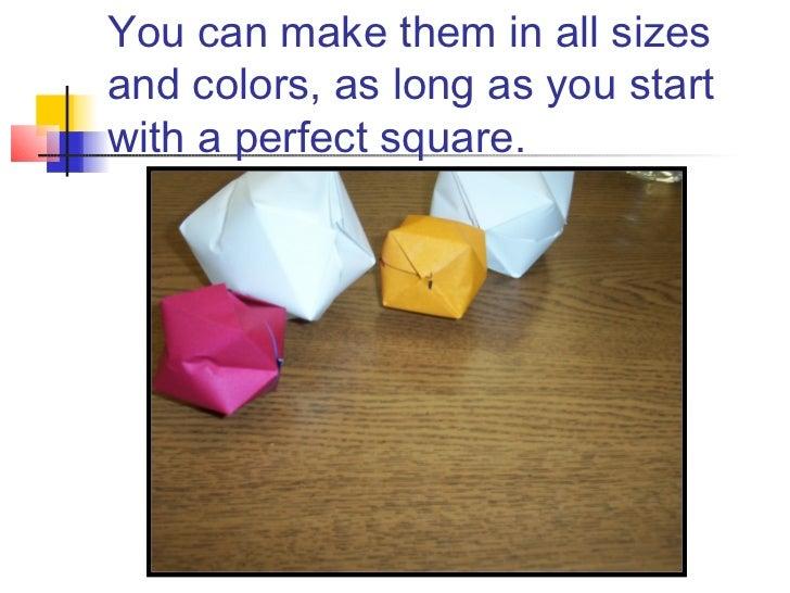 Make an Origami Balloon - KIWI Magazine   546x728