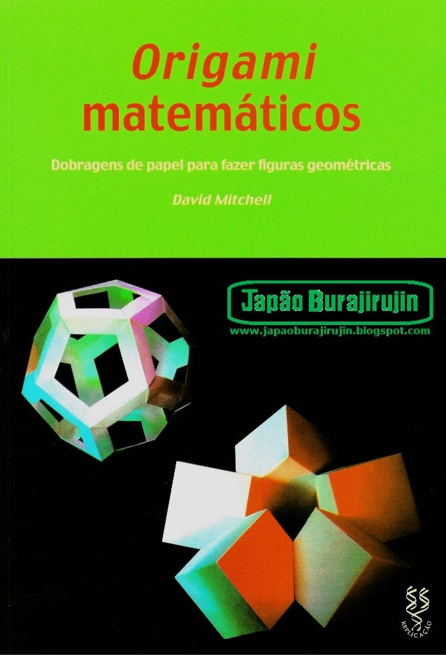 Origami matemático   livro
