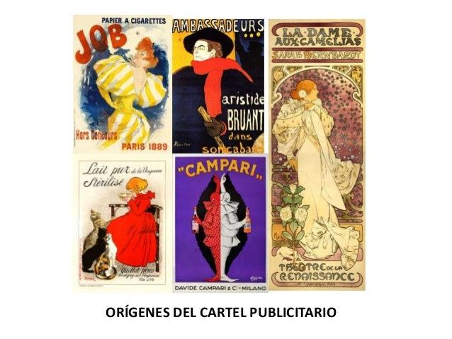 ORÍGENES DEL CARTEL PUBLICITARIO
