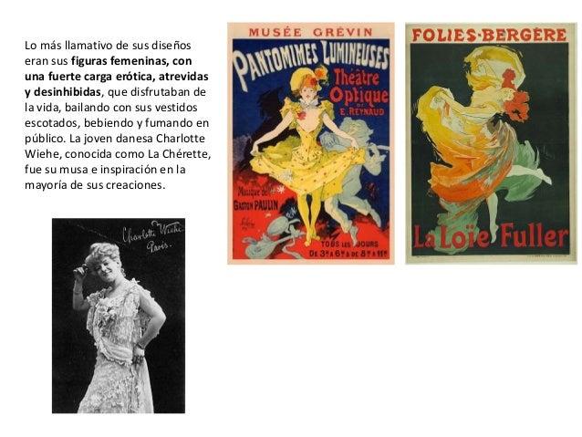 Lo más llamativo de sus diseños eran sus figuras femeninas, con una fuerte carga erótica, atrevidas y desinhibidas, que di...