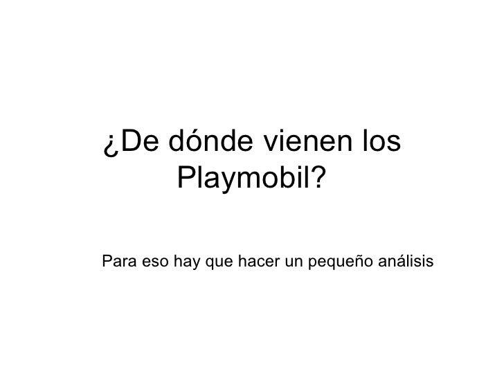 Origen Playmobil Slide 2