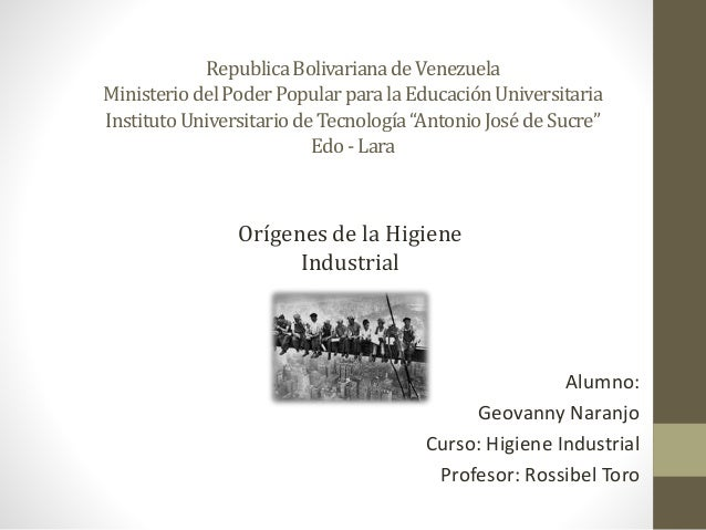 "RepublicaBolivarianadeVenezuela MinisteriodelPoderPopularparalaEducaciónUniversitaria InstitutoUniversitariodeTecnología""A..."