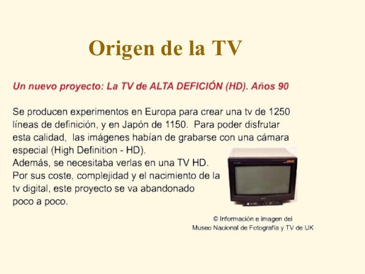 origen de la tv