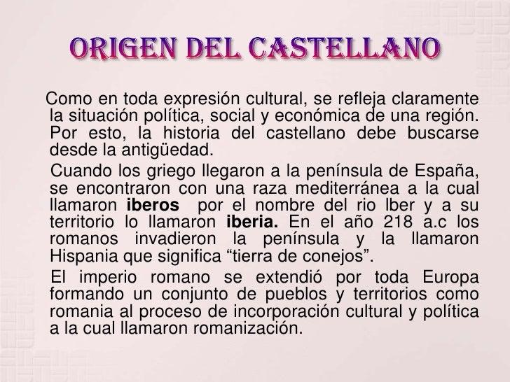 Artesanato Nos Açores ~ Origen del castellano