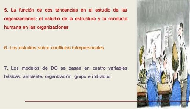 5. La función de dos tendencias en el estudio de las organizaciones: el estudio de la estructura y la conducta humana en l...