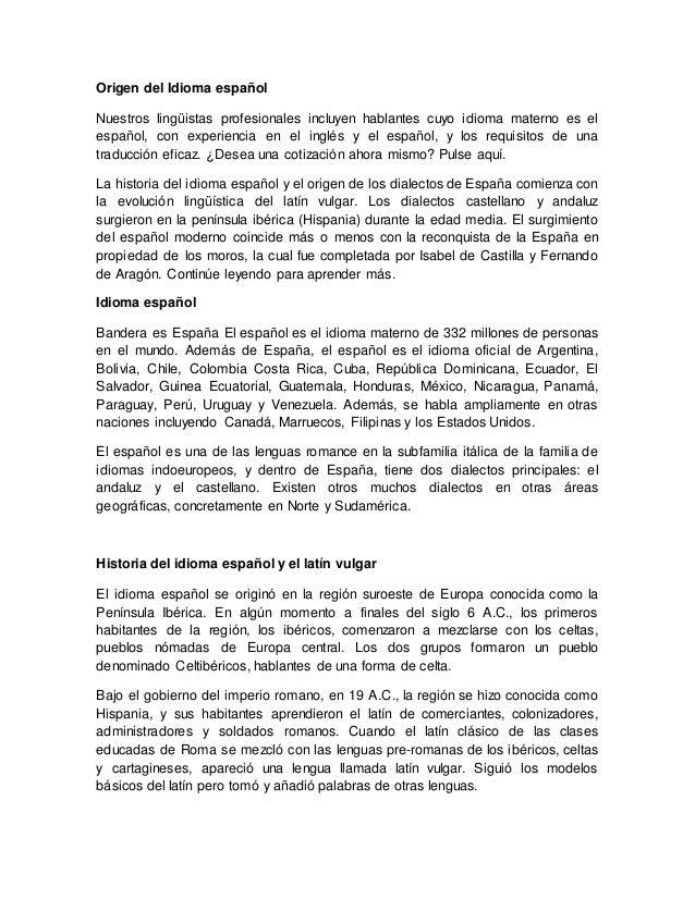 Artesanato Nos Açores ~ Origen del idioma español
