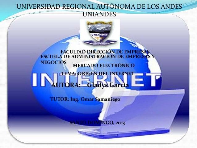 UNIVERSIDAD REGIONAL AUTÓNOMA DE LOS ANDESUNIANDESFACULTAD DIRECCIÓN DE EMPRESASESCUELA DE ADMINISTRACIÓN DE EMPRESAS YNEG...