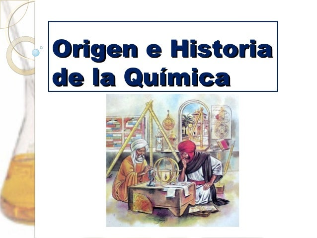 Origen e historia de la qu mica for La quimica en la gastronomia