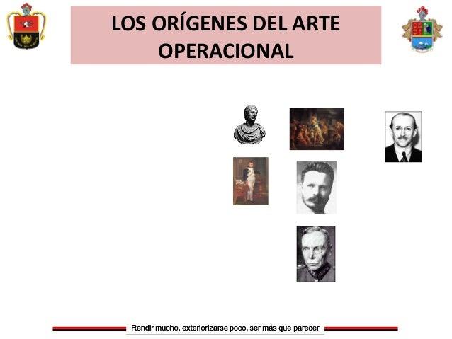 LOS ORÍGENES DEL ARTEOPERACIONAL