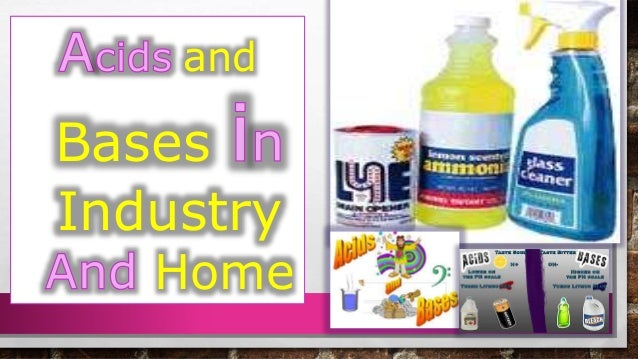 Acids And Bases In Industry And Us