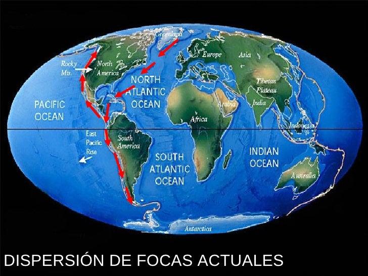 DISPERSIÓN DE FOCAS ACTUALES
