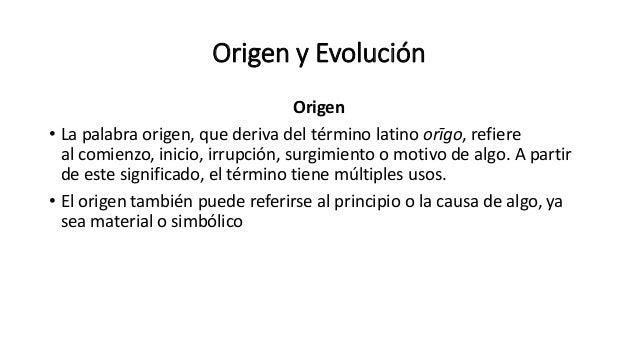Origen y evoluci n procesos y caracter sticas de for Significado de la palabra contemporaneo