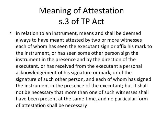 4 meaning of attestation
