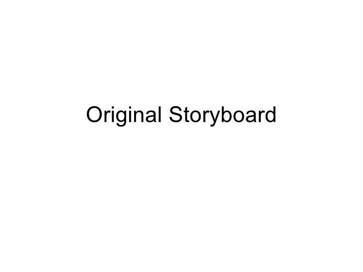 Original Storyboard