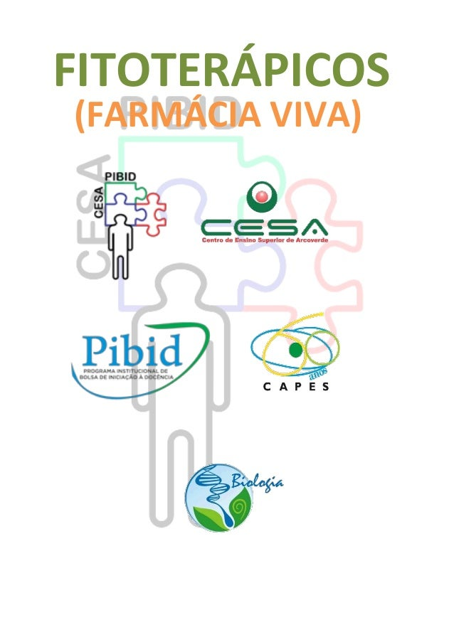 FITOTERÁPICOS (FARMÁCIA VIVA)
