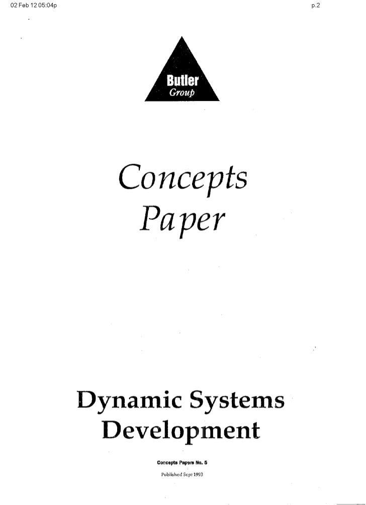 Original DSDM paper (Sept 1993)