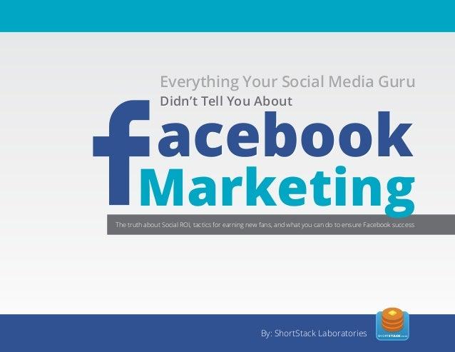 Everything Your Social Media Guru  Essential               Everything Your Social Media Guru              The Tell You Abo...