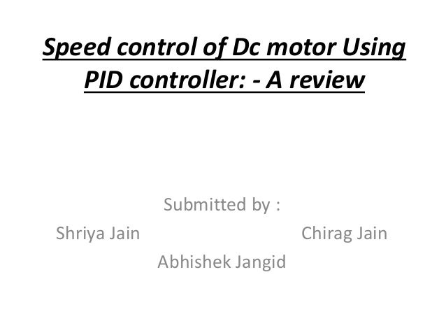 Research on PID controller