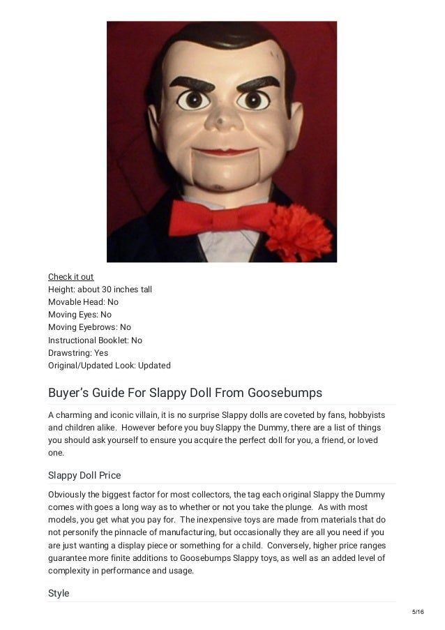 Goosebumps Most Wanted Son Of Slappy Pdf