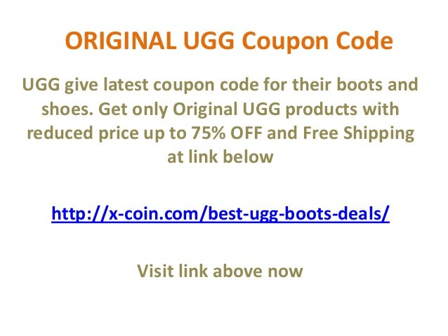 8bf4d826af2 All UGG Copon Code May 2013 75% OFF Free Shipping Free Return