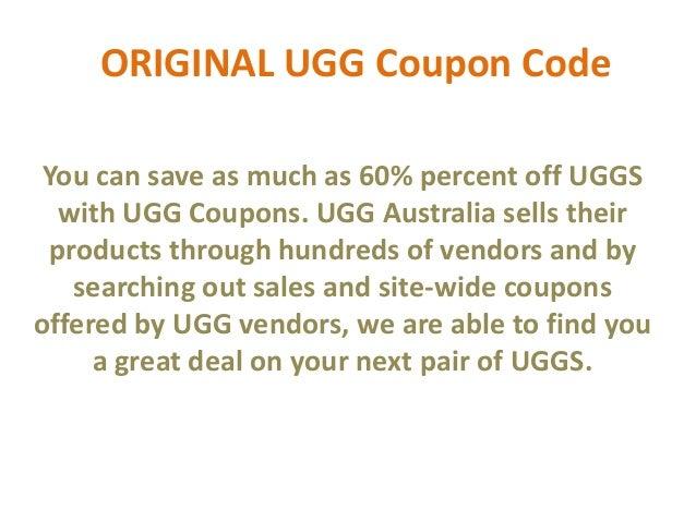 ugg coupons 2013