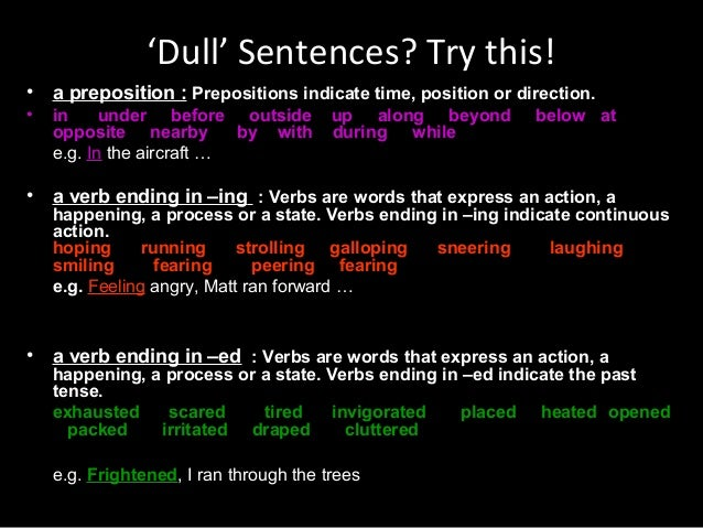 good essay starting sentences