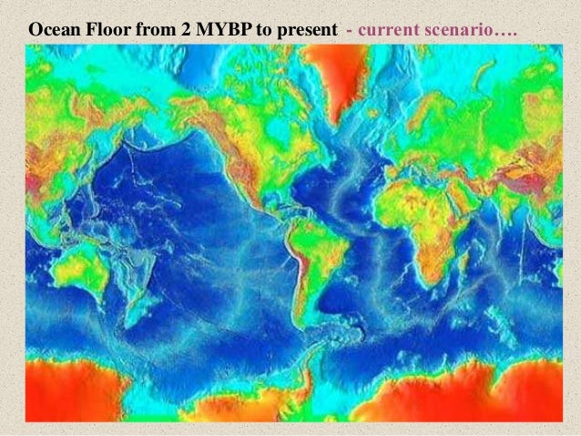 creation of the ocean floor paper Seafloor topography (bathymetry) of the pacific showing the volcanos   returning to our paper and candle analogy—this chain is the same as the   rocks formed above a subduction zone (a zone where the seafloor of an.