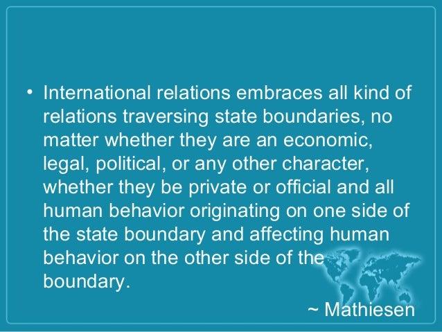 international relations essay topics