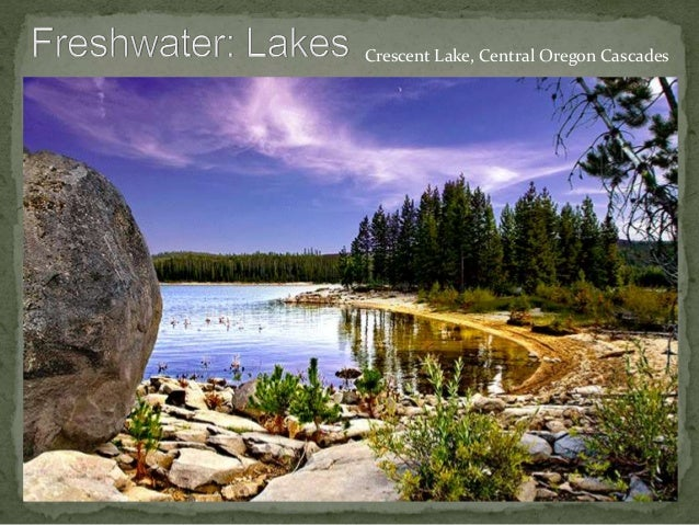 Crescent Lake, Central Oregon Cascades