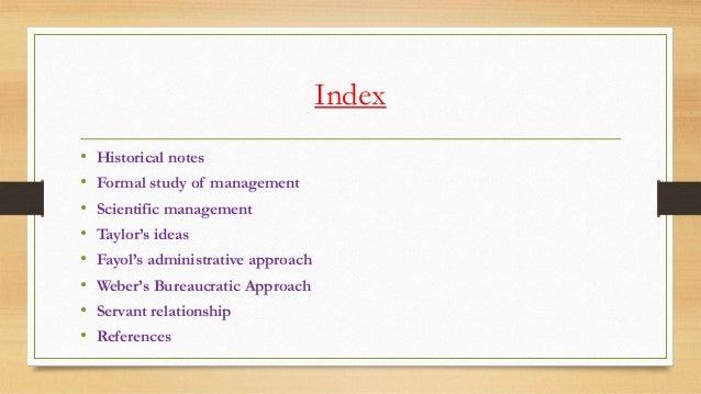 Origin of management Slide 2