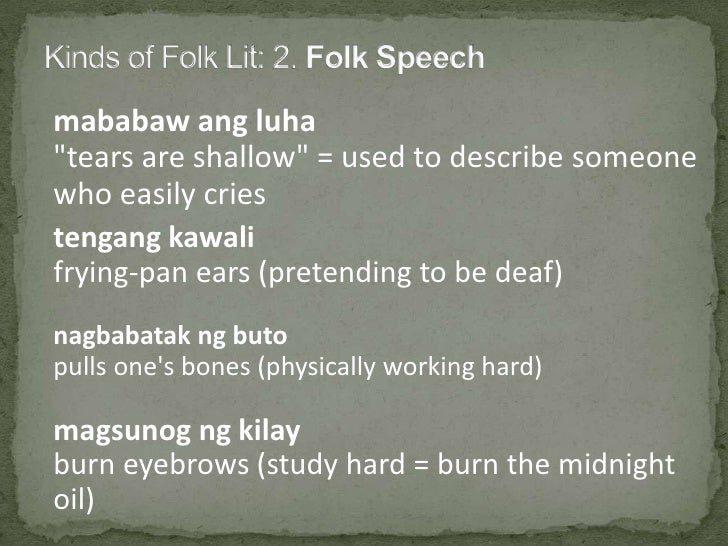 subanon folk literature T h e tale of the origin of the buklogl came from the subanens in the municipality   i t was through one of the trips to this area to collect subanen folklore that this.