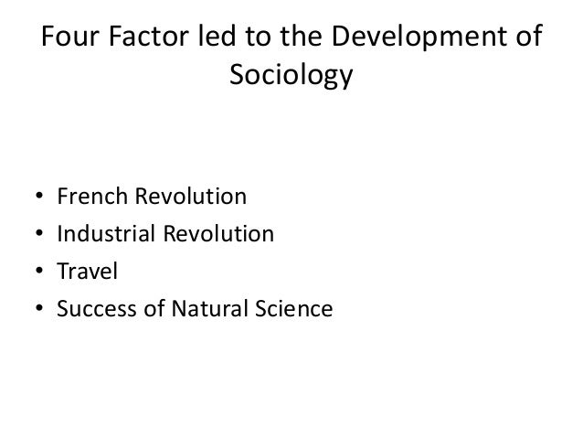 ORIGIN OF SOCIOLOGY PDF