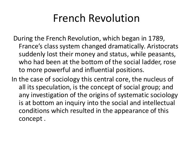 an analysis of social factors contributed to the french revolution of 1789 The role ideology played in the sociopoltical changes that affected the factors such as social of the french revolution of 1789 was to be a.