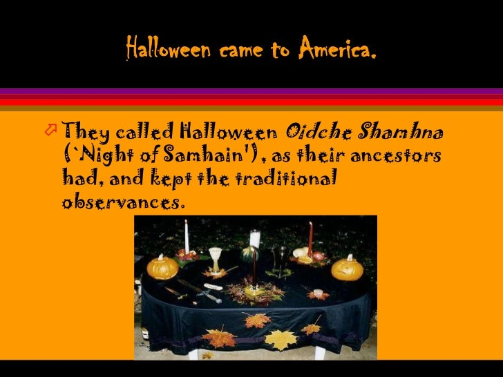 the origins of halloween and how it arrived to america How trick-or-treating became part of halloween tradition  despite its origins in pagan and christian tradition,  north america had a new term for the old.