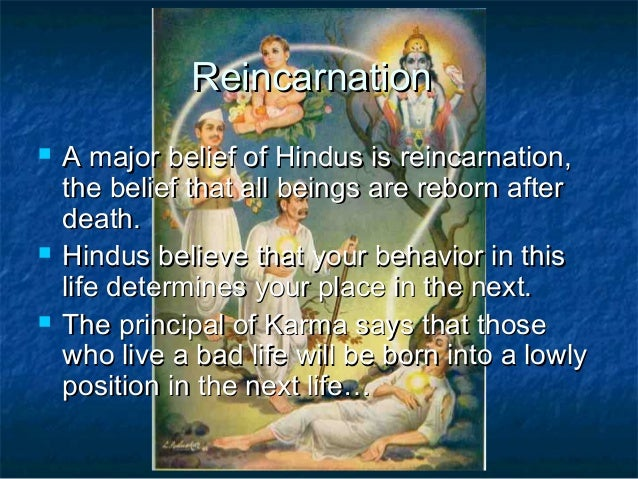 do hindus believe in life after death