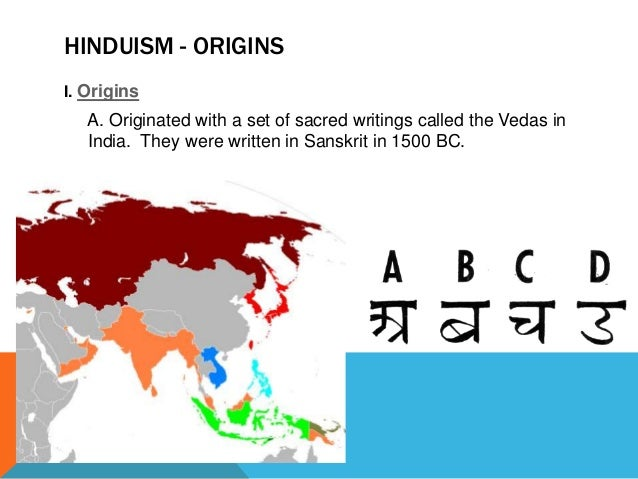 6-1.4 Origins of Hinduism and Buddhism