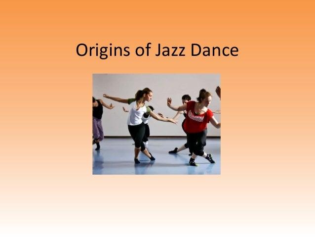 Origins of Jazz Dance