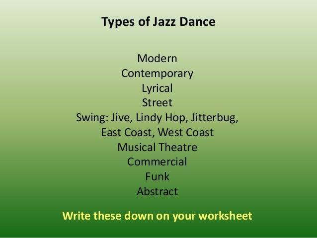 Origins Of Jazz Dance on 1940s Jitterbug Dance