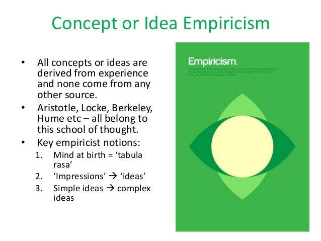 Origins Of Knowledge 2016 Revision 1 Concept Empiricism