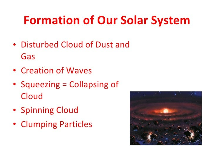 origins of solar system Read and learn for free about the following article: how our solar system formed.