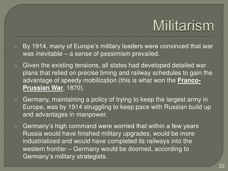 world war 1 inevitable essay Essays - largest database of quality sample essays and research papers on was world war 2 inevitable.