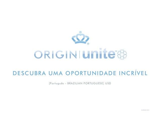 EN USD 02.2013 DESCUBRA UMA OPORTUNIDADE INCRÍVEL [Português - BRAZILIAN PORTUGUESE] USD