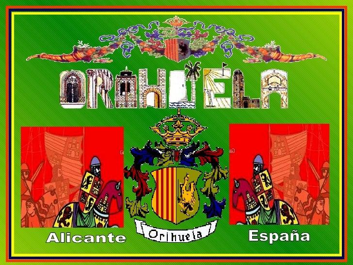 Alicante España    ...