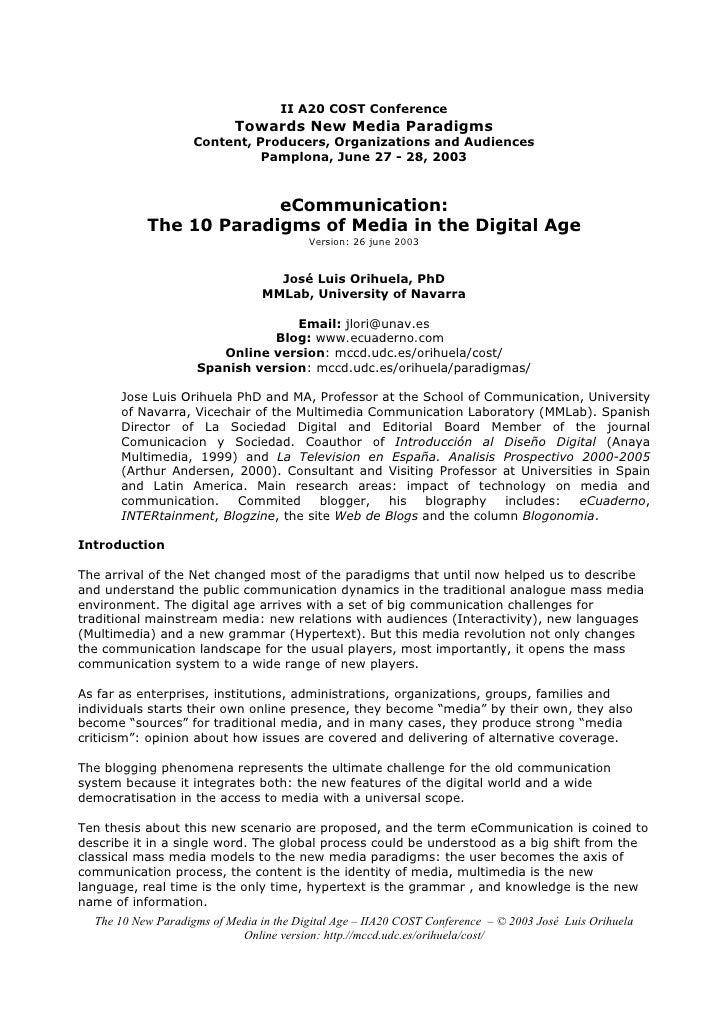 Panopticism in the digital age media essay