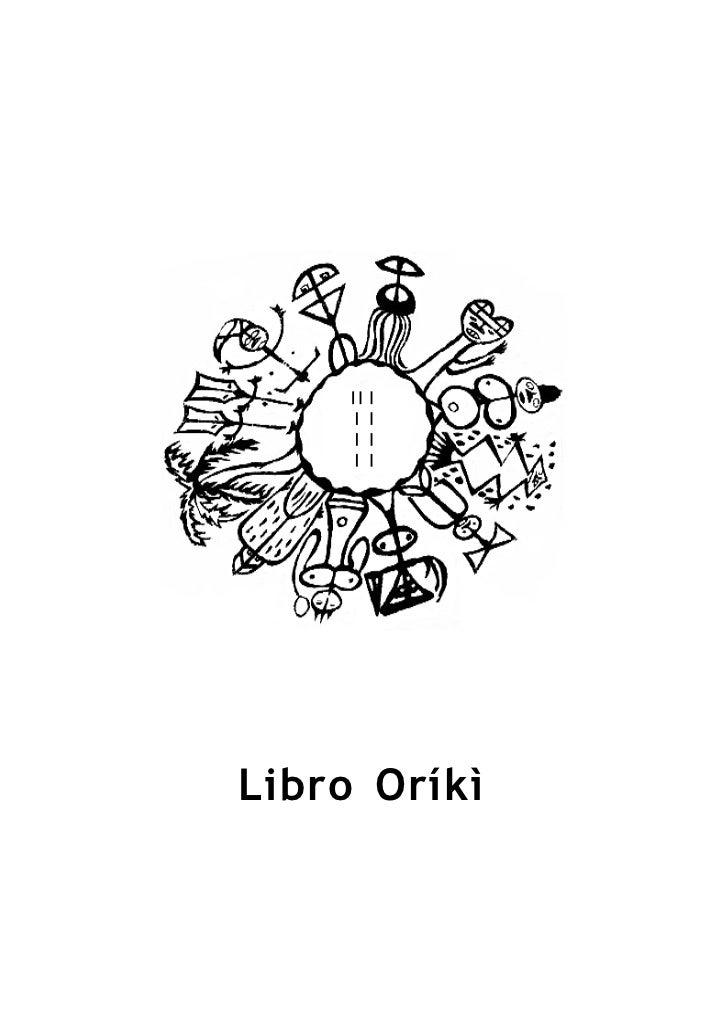 Libro Oríkì